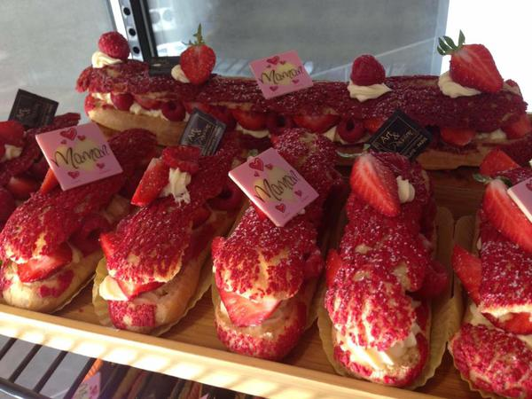 Eclair Fruits Rouges